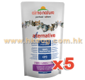 Almo Nature Alternative 鴨肉乾糧 750g x5