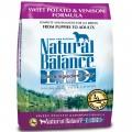 Natural Balance 無穀物甜薯鹿全犬糧 13磅
