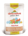 Almo Nature Almo Nature classic RAW貓濕糧 雞+火腿 55g