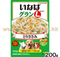 Inaba 全犬雞肉+五種蔬菜配方濕糧 200g<GL05>