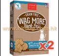 Cloud star Wag More 無穀物烘焙狗餅 14oz x2盒