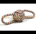 棉繩球雙扣