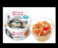 Aixia Miaw Miaw 貓罐頭 80g 吞拿+蟹柳<MMF2>