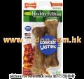 Nylabone Healthy Edibles 小型犬可食用煙肉味潔齒棒 2pc