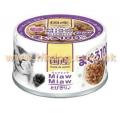Aixia Miaw Miaw 貓罐頭 60g 吞拿魚,鰹魚<MT4>