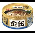 Aixia 金缶 吞拿+木魚片  70g(GCM35)
