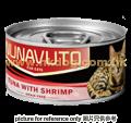 NUNAVUTO 吞拿+蝦貓罐 80g