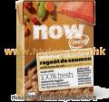 NOW! 無穀物湯潡三文魚肉粒全貓種濕糧 182G