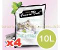 FUSSIE CAT 原味凝結砂 10公升 x4包