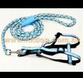 胸帶+圓繩拖帶套裝(胸圍36~50cm,多色)