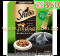 Sheba 貓潔齒夾心脆餅 200g 綠茶潔齒<SDUP2>