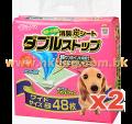 日本CS 雙層炭消臭尿墊 2包可混款