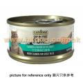 Canidae 無穀物貓罐頭 三文+白魚 70g