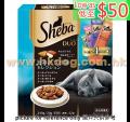 Sheba 貓潔齒夾心脆餅 240g 鰹魚