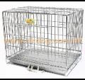 摺籠 電鍍鐵枝籠雙門 2.5尺