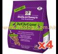 Stella & Chewy's  急凍生肉貓糧 鴨鵝配方 1.25LB x4包
