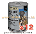 Canidae 高齡/減肥配方狗濕糧 13oz x12罐