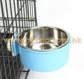 不鏽鋼夾籠食碗  大碼(不設選色)