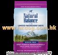 Natural Balance 無穀物甜薯鹿全犬糧 26磅