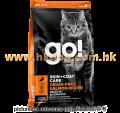 GO! SOLUTIONS SKIN+COAT 無穀物 三文魚貓糧配方 16磅