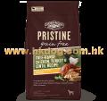 PRISTINE 無穀物放養雞,火雞扁豆全犬配方 10磅