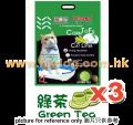 忌廉哥豆腐砂 18L 綠茶味 x3包