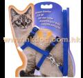 貓用胸帶+拖帶套裝(胸圍17~27cm,多色)