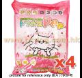 PGT 爽快 香桃味豆腐砂 7L x4包