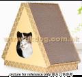 瓦通紙抓板 - 三角型貓屋