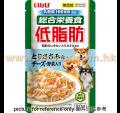 Inaba 低脂配方濕糧乳酸菌+雞肉+芝士+野菜 80g<IRD54>