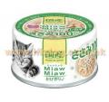 Aixia Miaw Miaw 貓罐頭 60g 雞肉,白飯魚<MT6>