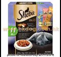 Sheba 貓潔齒夾心脆餅 200g 高齡配方<SDU31>