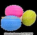天然橡膠磨牙玩具 欖球