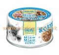 Aixia Miaw Miaw 貓罐頭 60g 吞拿魚,白飯<MT3>