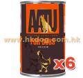 AATU 狗罐頭 雞肉 400g x6罐