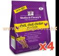 Stella & Chewy's  急凍生肉貓糧 雞肉配方 1.25LB x4包