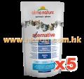 Almo Nature Alternative 貓乾糧 750g x5包(鴨,尋龍,鵪鶉可混款)