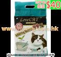 LoveCat 條狀豆腐砂綠茶味 6L