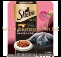 Sheba 貓潔齒夾心脆餅 240g 吞拿+雞(1月28日到期特價)