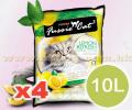 FUSSIE CAT 香味凝結砂 10公升 x4包