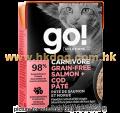GO! CARNIVORE 三文魚+雪魚貓濕糧 6.4安士
