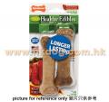 Nylabone Healthy Edibles 中型犬可食用牛肉味潔齒棒 2pc